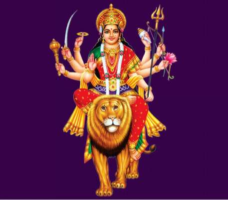 Durga Maa Photos For Free Download With Message Heres Hoping This Navratri Will Bring You Good Fortune Chant Jai In The Mornings