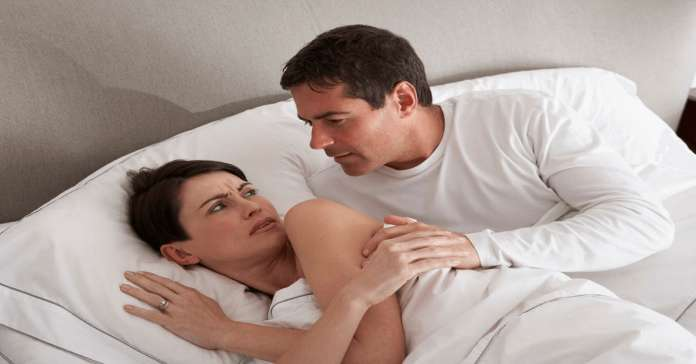 Sex with wife during divorce