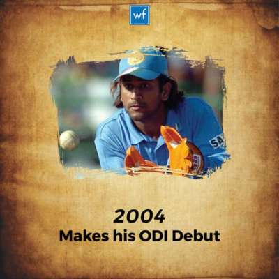 From 1990 To 2017 Here s How MS Dhoni Transformed Into A