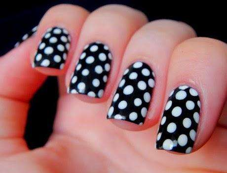 Ladies Here Are 8 Black And White Nail Art Designs That Are