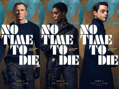 No Time To Die Character Posters Of 25th James Bond Film