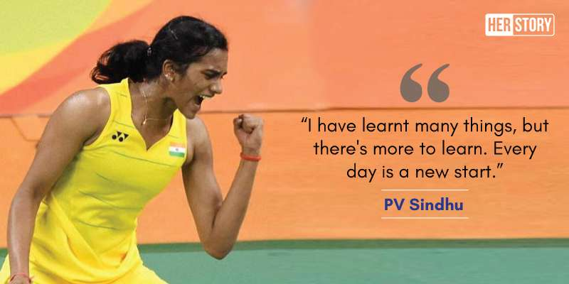 12 inspirational quotes by PV Sindhu that will show you what