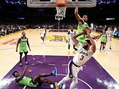 Nba Anthony Davis Slams Season High 50 Points As Lakers