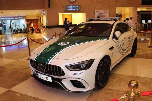 Mercedes-AMG GT 63S, the latest Dubai Police Car - Bharath