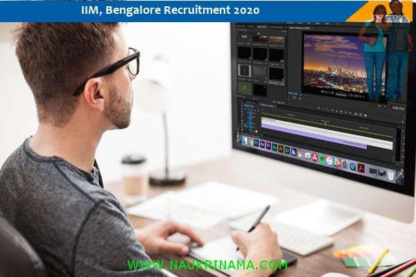 Iim Bangalore Vacancy For The Post Of Instructional Designer Naukri Nama Dailyhunt