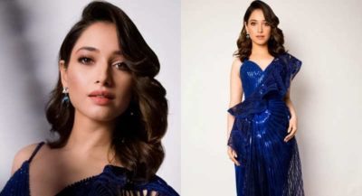 Tamannaah Bhatia Shines Like A Blue Diamond In Amit Aggarwal Piece Yotainment English Dailyhunt