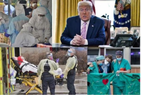 Corona Records | 76 Thousand Cases |USA Braking News |