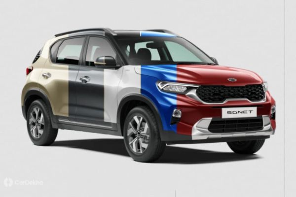 Kia Sonet Gets Choice Of 11 Colours Car Dekho English Dailyhunt