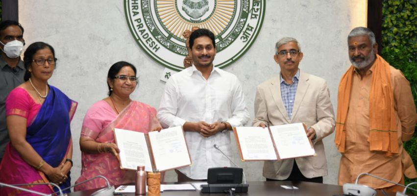 AP signs MoU with Amul to benefit farmers and women - NewsX ...