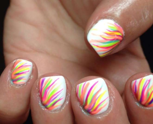 Try These Rainbow Nail Art Designs To Spice Up Your Look In Monsoon News Crab Dailyhunt