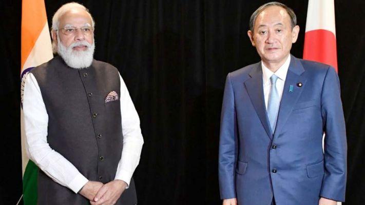 PM મોદી અને જાપાનના PM સુગા યોશિહિદે વચ્ચે બેઠક યોજાઈ, આ મુદ્દે કરી વાત