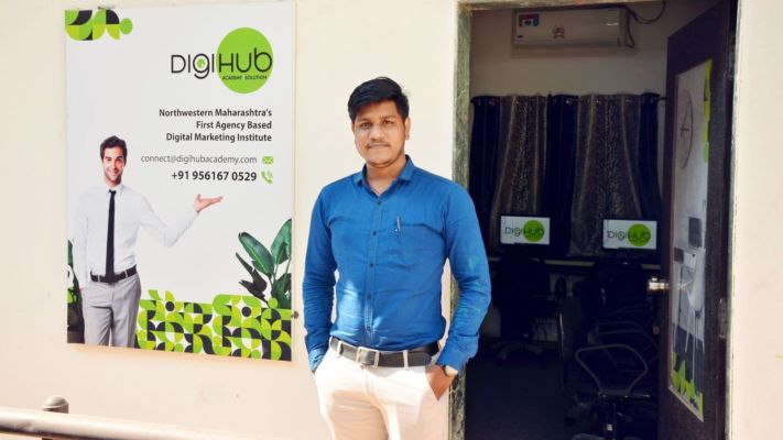 Meet the Man behind DigiHub | Tushar Rayate | One of the Counted Digital Marketers - Startup India Magazine | DailyHunt