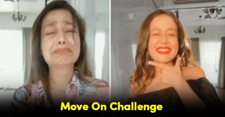 Neha Kakkar Starts Moveonchallenge Amid Lockdown Urges Girls Not To Shed Tears For Their Exes Rvcj Dailyhunt