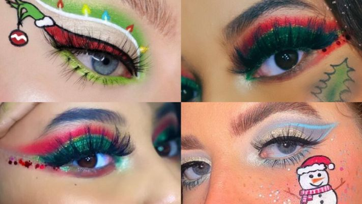 Christmas Eyebrows 2021 Christmas 2020 Makeup Ideas From Christmas Tree Eyebrows To Candy Cane Eyeliners Try This Beauty Trends On This Holiday See Pictures Video Ampinity News Dailyhunt