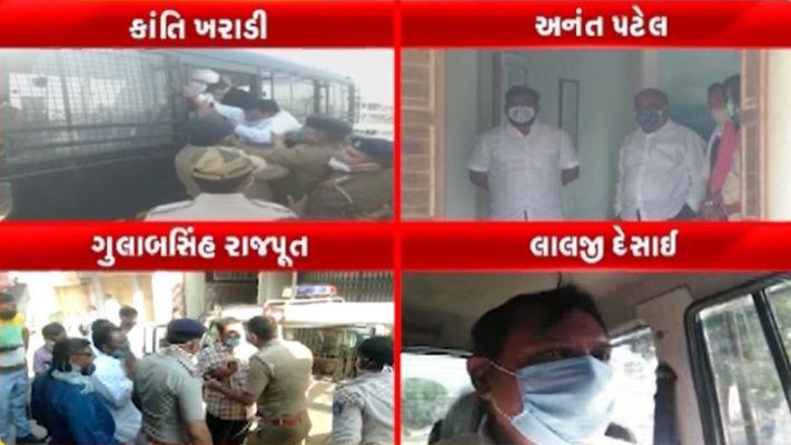 ભારત બંધઃ ગુજરાતમાં કોંગ્રેસનો આક્રમક વિરોધ,અનંત પટેલ, પરેશ ધાનાણી સહિત દિગ્ગજ નેતાઓની કરાઇ અટકાયત