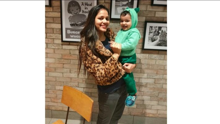 """""""Being a mama isn't easy, but it is definitely the best job anyone could ever have"""" says Ritu Madaan @momdiariesbyritu"""