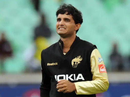 Sourav Ganguly For KKR Photo Credit: BCCI/IPL.