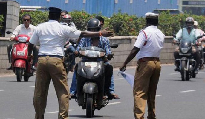 Police constable seeks motorist's caste details for issuing challan in  Tamil Nadu, gets transferred - Orissa Post   DailyHunt