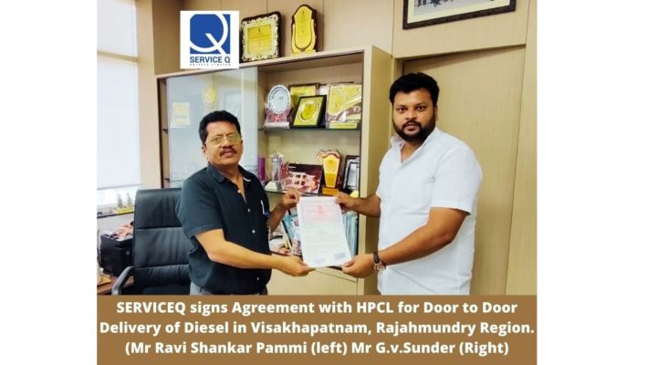 Door to Door Diesel delivery Push: HPCL signs EOI with ServiceQ.
