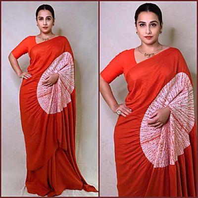 How Cool Does Vidya Balan Look In This Saree! - Charmboard | DailyHunt