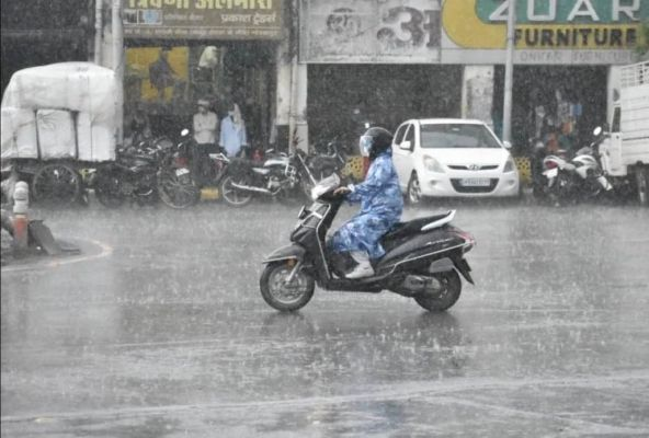 Weather Today: Light to heavy rains may occur in these states of the country  today, these states will be more affected - News Crab | DailyHunt