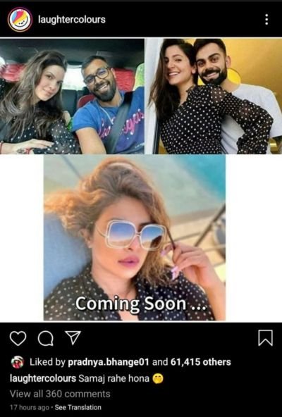 Anushka S Polka Pregnancy Reveal Outfit Triggers Funny Memes Netizens Call It Chamatkari Dress Laughingcolours English Dailyhunt
