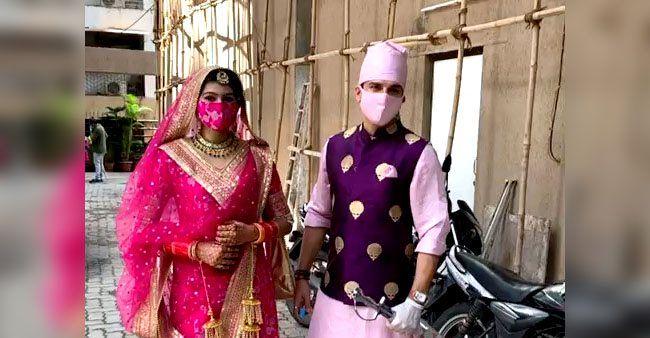 Sasural Simar Ka's Manish Raisinghan welcomes his bride in ...