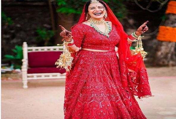 Actress Mona Singh S Wedding Dress Was Very Expensive The Price