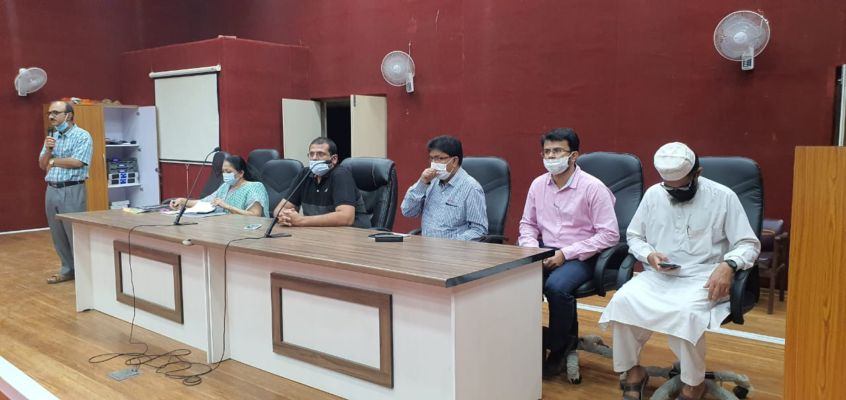 ગોધરા: જિલ્લા કલેકટરના અધ્યક્ષસ્થાને બેઠક યોજાઈ