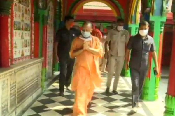 Yogi Adityanath | Ayodhya Ram Temple News | Reviews Preparations for 'Bhoomi Pujan'