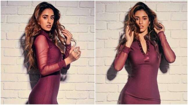 Disha Patani In Figure Hugging Mini Dress Channels Inner Beyonce For Malang Promotions All Pics
